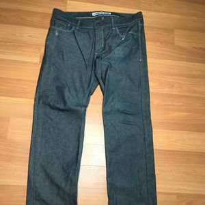 Express Rocco Slim Fit Straight Leg Jeans